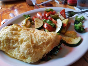 Fig Tree Cafe omelet