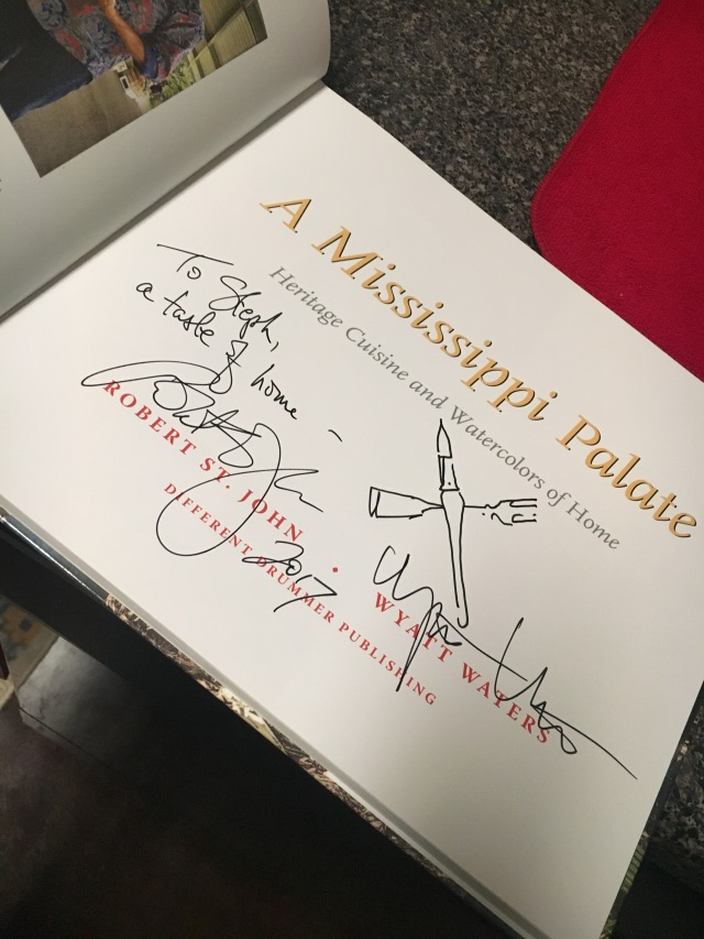 signed copy of A Mississippi Palate