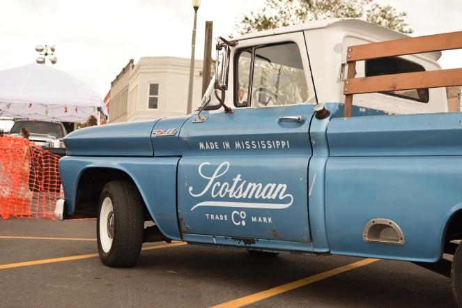 Scotsman Co. Chevy truck
