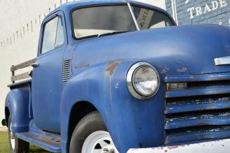 1953 Blue Chevy truck
