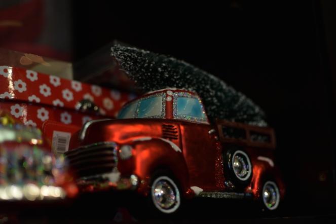 truck Christmas ornament