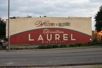 Welcome to Historic Downtown Laurel painting