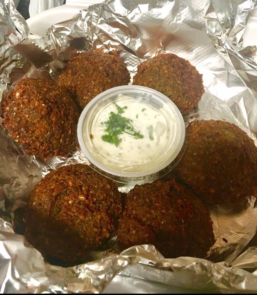 Falafel at Petra cafe